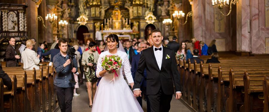Katedra Śwdnica, Ślub