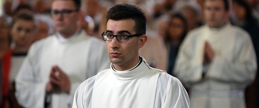 Diakon Adrian na praktyce