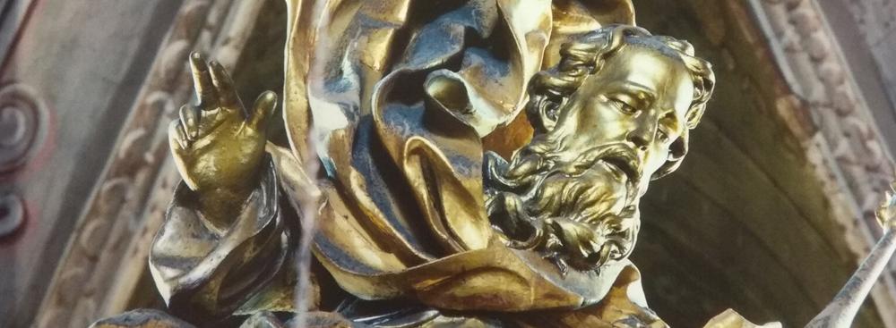 Remont ołtarza rozpoczęty od Boga Ojca