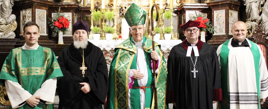 Nieszpory ekumeniczne w tygodniu jedności chrześcijan
