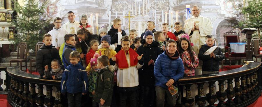 Podsumowanie udziału w Mszach św. roratnich
