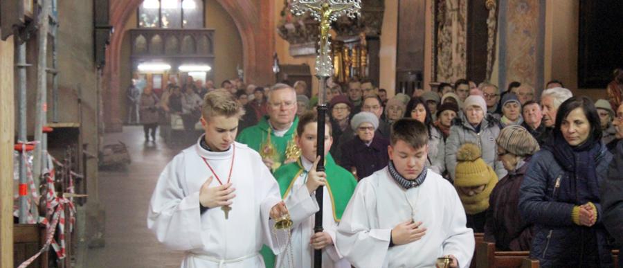 Kolejni święci w katedrze