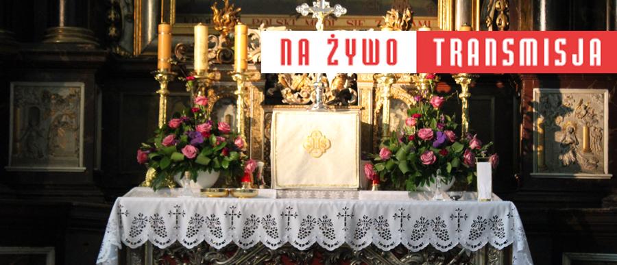 Transmisje Mszy św. w Niedzielę Palmową