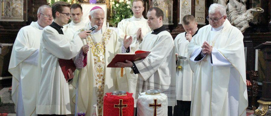 Msza św. krzyżma w duchu dziękczynienia