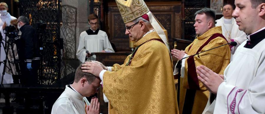 Święcenia prezbiteratu 2020