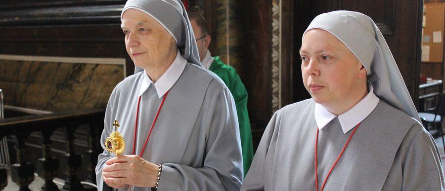 Relikwie błogosławionej Marii Teresy Ledóchowskiej