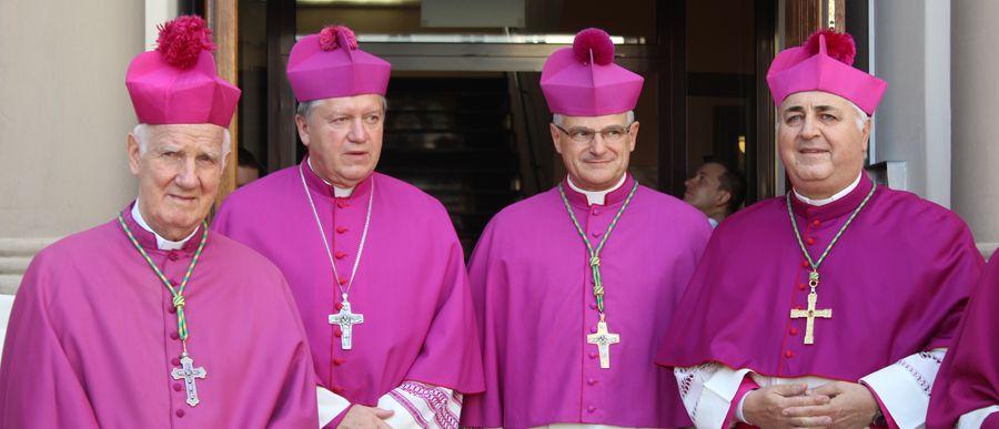 Ingres bp. Marka Mendyka do katedry świdnickiej