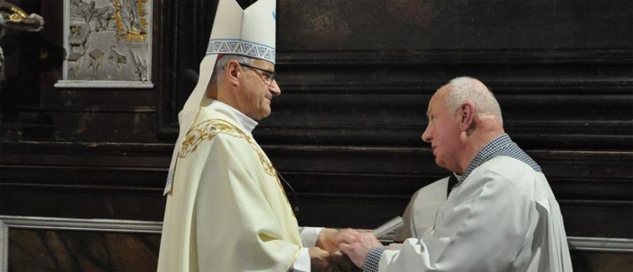 Jubileusz Janusza Psiuka – kościelnego od 25 lat