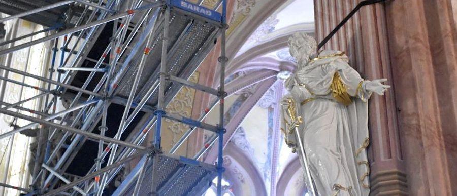 Katedra pięknieje – efekty wykonanych prac