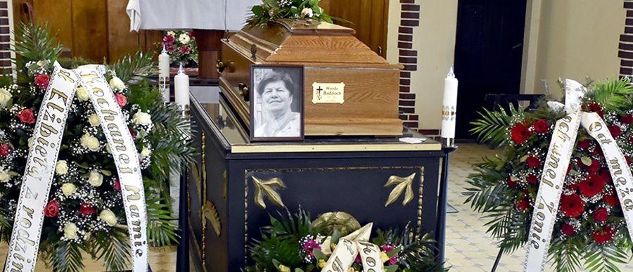 Pogrzeb Wandy Badzioch, byłej katechetki