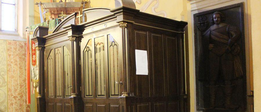 Nowy grafik konfesjonału stałego