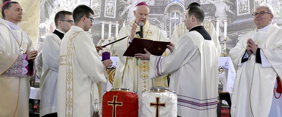 Msza Krzyżma 2019 w Katedrze Świdnickiej