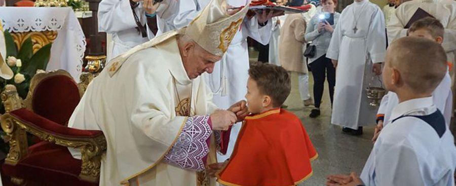 Błogosławieństwo nowych ministrantów katedralnych