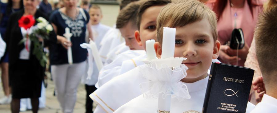 Witajcie Dzieci Boże – Uroczystość I Komunii Św.