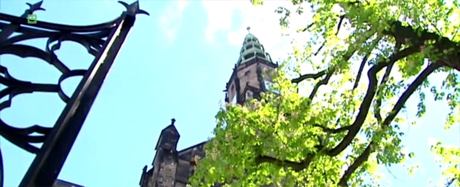 O rewitalizacji Świdnickiej Katedry w Wiadomościach