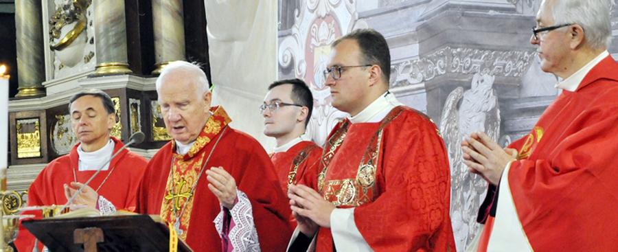 Imieniny biskupa w duchu jedności