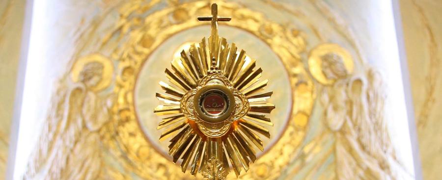 Zapowiedź wprowadzenia relikwii dwojga świętych