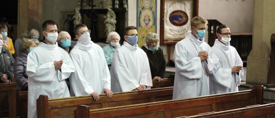 Modlitwa o powołania z klerykami naszego seminarium