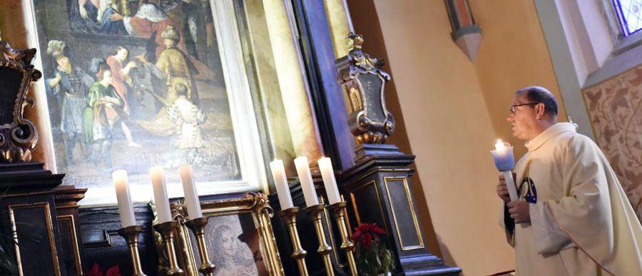Objawienie Pańskie z orszakiem w katedrze