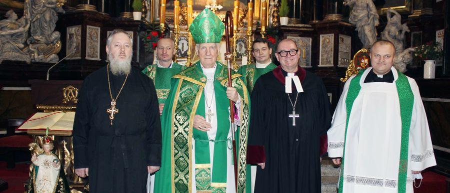 Ekumeniczne nieszpory z prawosławnymi i luteranami