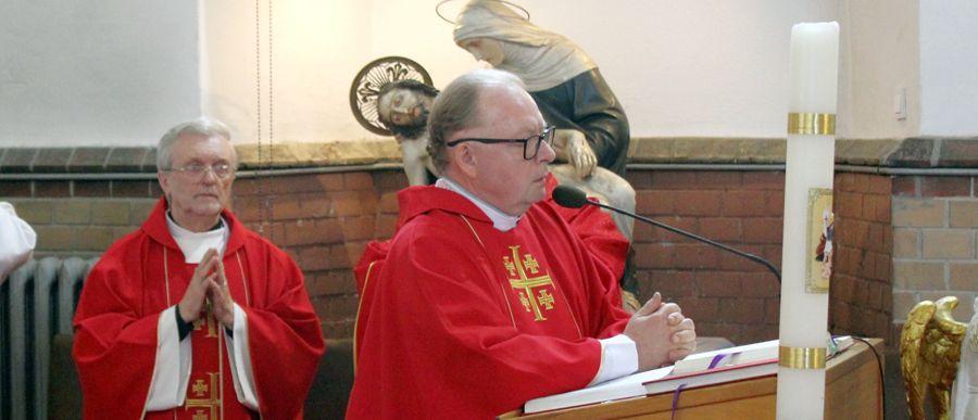 Odpust w kościele Świętego Krzyża