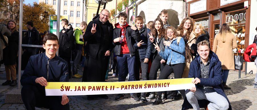 Dzień św. Jana Pawła II – młodzież nie zawiodła